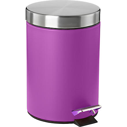 WEST ONE BATHROOMS Confetti pedal bin (Purple