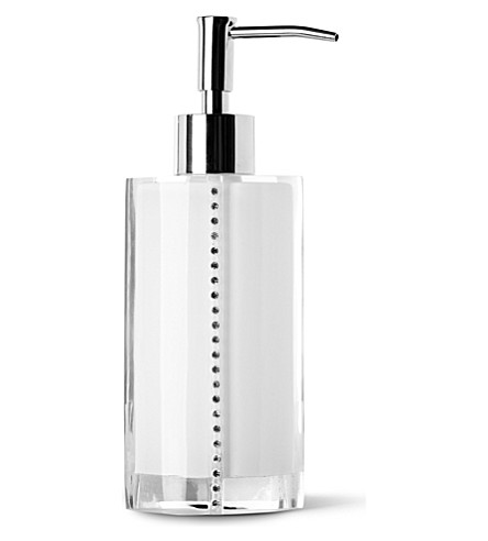WEST ONE BATHROOMS Diamonds soap dispenser (White