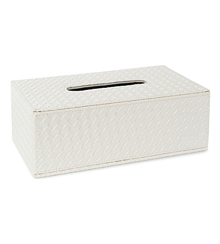 WEST ONE BATHROOMS Marrakech kleenex box (Pearl