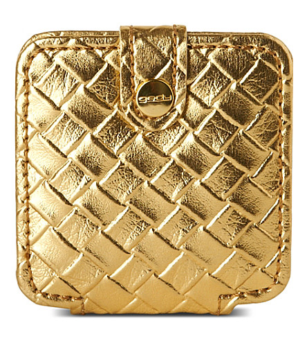 WEST ONE BATHROOMS Marrakech compact mirror (Gold