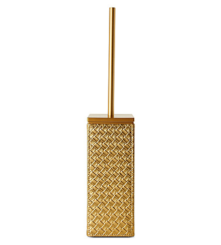 WEST ONE BATHROOMS Marrakech toilet brush set (Gold