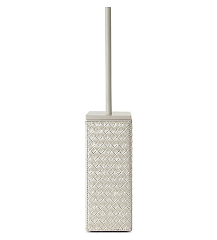 WEST ONE BATHROOMS Marrakech toilet brush set (Pearl