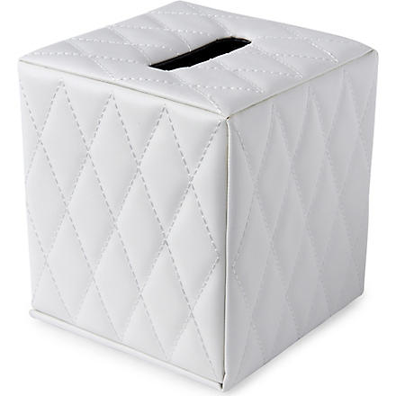 WEST ONE BATHROOMS Palace boutique tissue box (White
