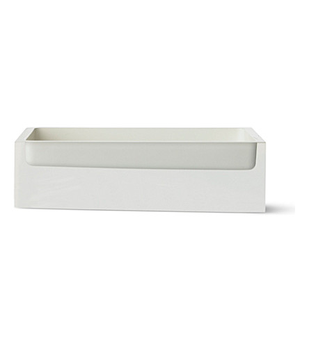 WEST ONE BATHROOMS Rainbow soap dish (White