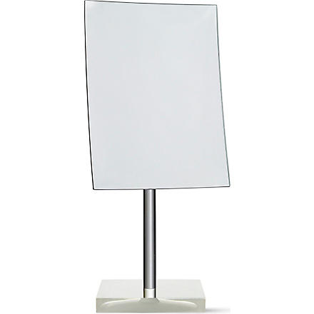 WEST ONE BATHROOMS Rainbow free-standing mirror white (White