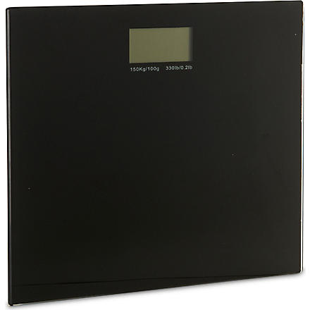 WEST ONE BATHROOMS Rainbow electronic scale (Black