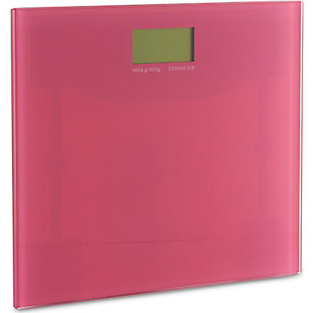 WEST ONE BATHROOMS Rainbow electronic scale (Pink
