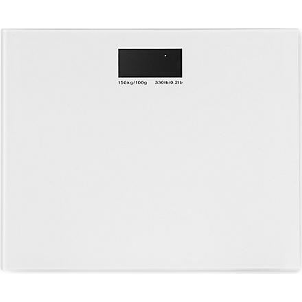 WEST ONE BATHROOMS Rainbow electronic scale (White