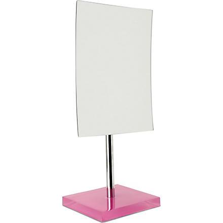 WEST ONE BATHROOMS Rainbow free-standing mirror (Pink