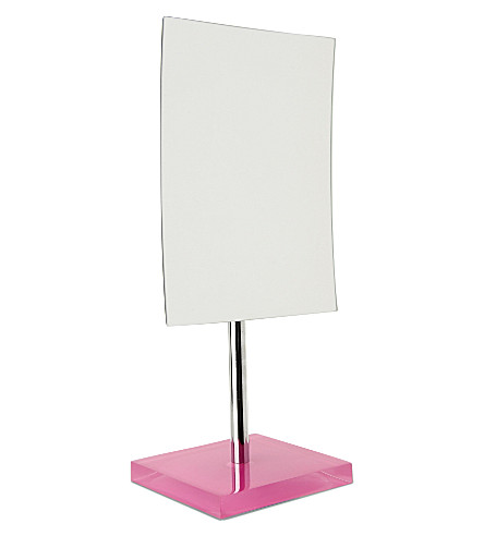 WEST ONE BATHROOMS Rainbow free-standing mirror (Pink
