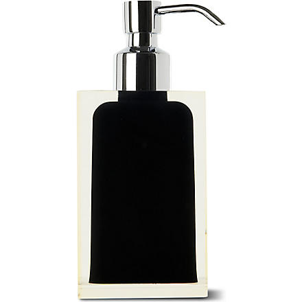 WEST ONE BATHROOMS Rainbow soap dispenser (Black