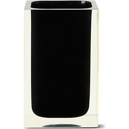 WEST ONE BATHROOMS Rainbow tumbler (Black