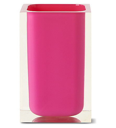 WEST ONE BATHROOMS Rainbow tumbler (Pink