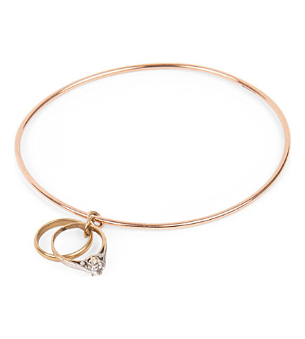 ANNINA VOGEL 9ct gold Rings bangle