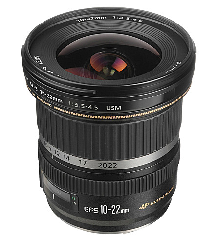 CANON Ef-s 10-22mm wide-angle zoom lens