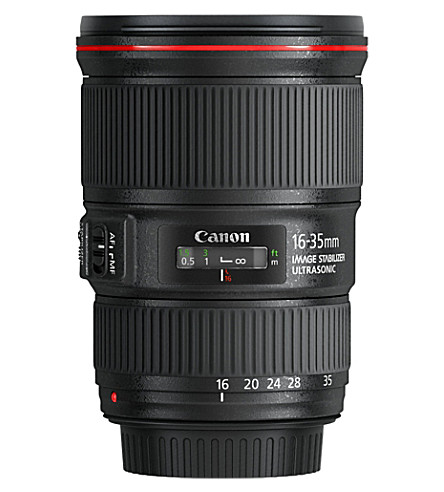 CANON EF 16-35mm f/4L IS USM wide zoom lens