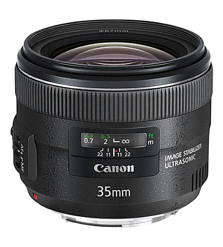 CANON Ef 35mm f2 is wide-angle lens