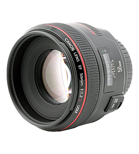 CANON EF 50mm f/1.2 lens