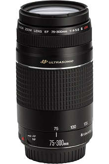 CANON EF75-300 USM lens