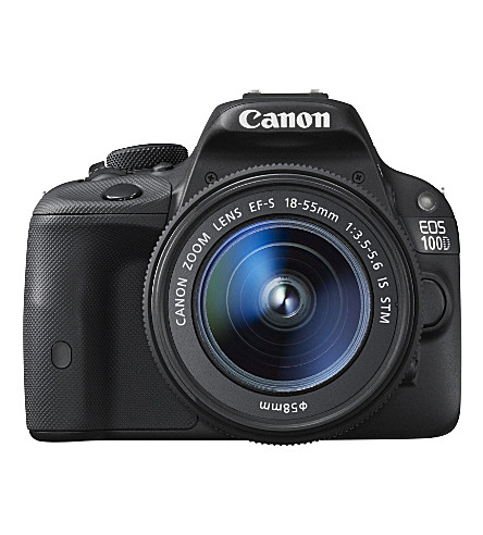 CANON EOS 100D digital SLR with 18-55mm lens
