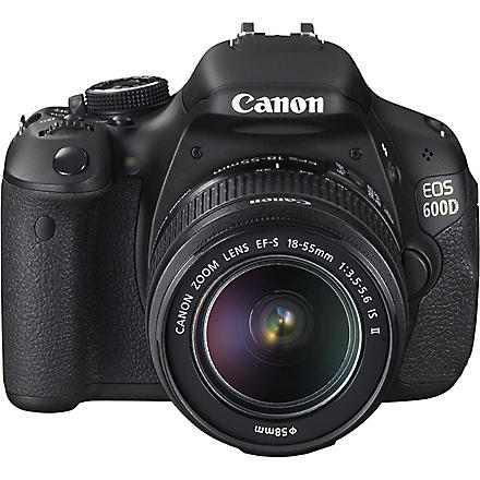 CANON EOS 1100D digital SLR camera with 18-55mm lens