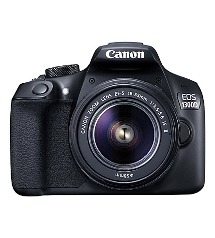 CANON EOS1300d digital slr camera with ef18-55mm lens