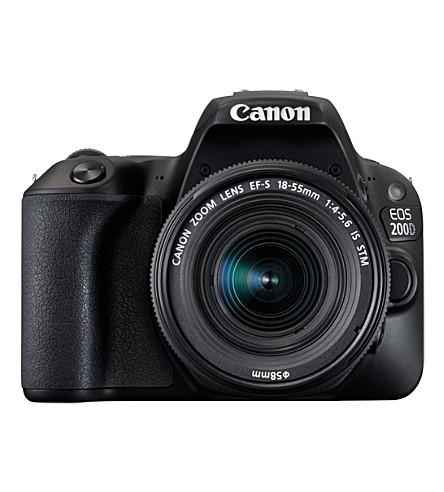 CANON EOS 200D DSLR 18-55mm Lens Camera Kit