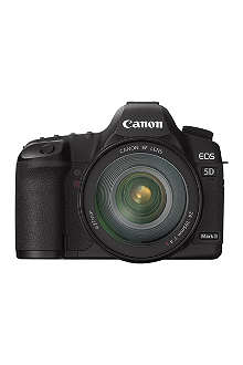 CANON EOS 5D Mark III digital SLR camera with lens