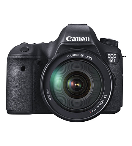 CANON EOS 6D DSLR camera and 24-105mm lens kit