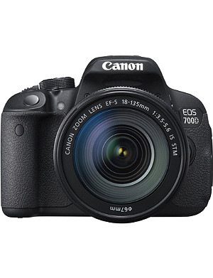 CANON EOS 700D digital SLR with 18-135mm lens