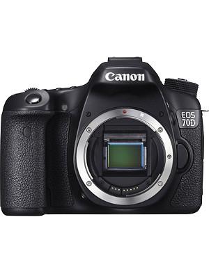 CANON EOS 70D digital SLR body
