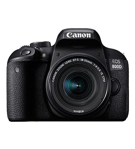 CANON EOS800D and 18-55mm DSLR Kit