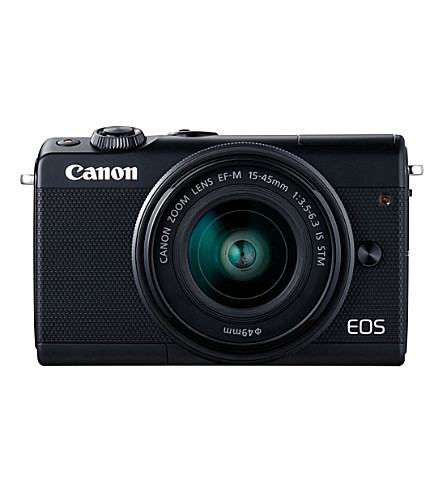 CANON EOS M100 digital camera and EF-M 15-45mm lens limited edition kit