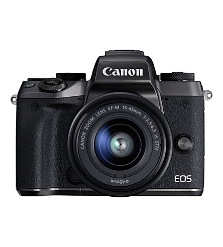 CANON EOS M5 and 15-45mm Digital Camera Kit