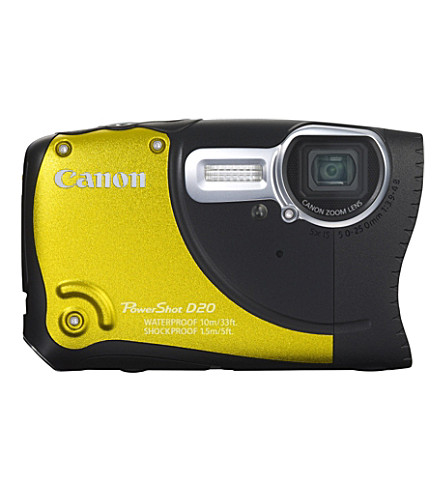 CANON PowerShot D20 Rugged digital camera