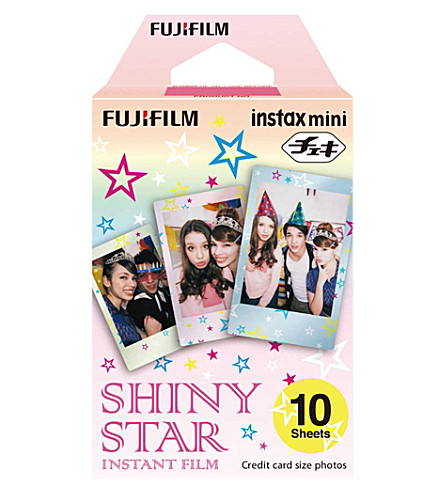 FUJIFILM FUJIFILM Instax® Mini Shiny Star Film