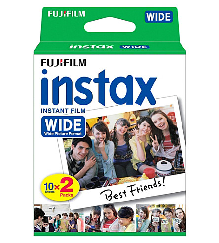 FUJI Instax Mini Wide twin film pack of 20 shots