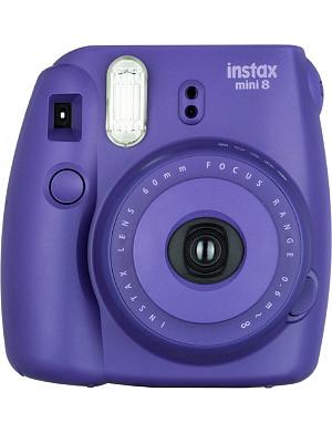 FUJI Instax mini 8 polaroid camera + 20 shots