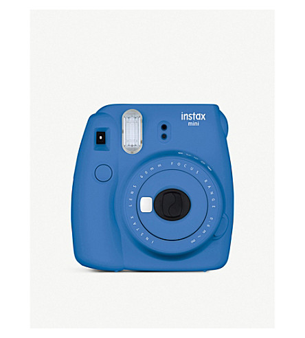 FUJI Instax Mini 9 Instant Camera (Cobalt+blue