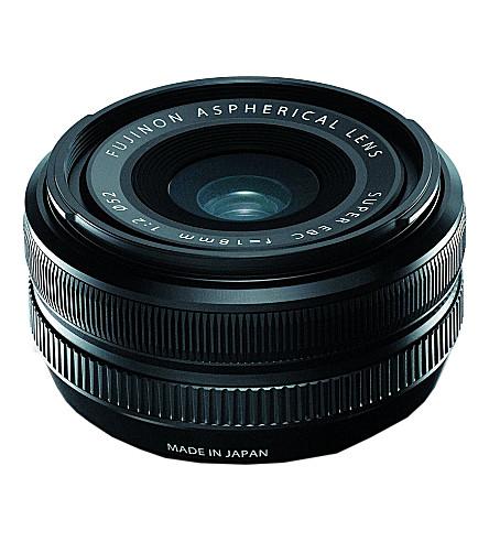 FUJIFILM XF 18mm F2 lens
