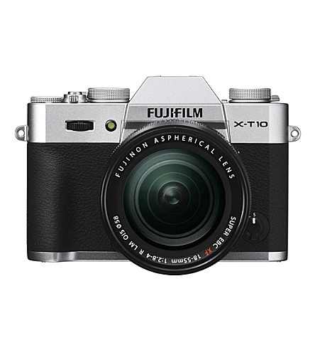 FUJIFILM XT-10 and XF18-55mm camera kit
