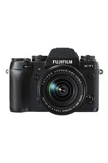 FUJI X-T1 digital compact camera with lens