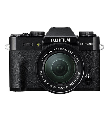 FUJIFILM X-T20 XC lens digital camera (Black