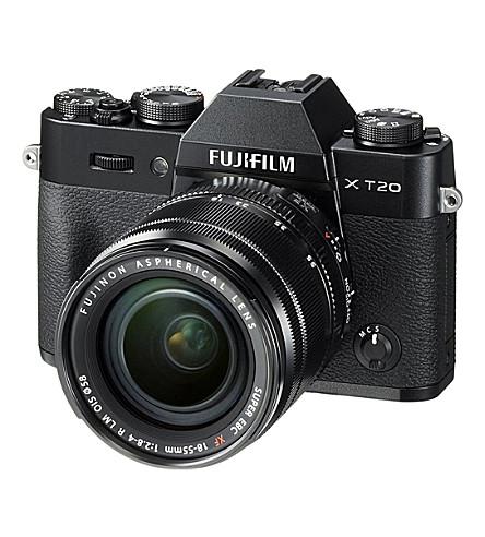 FUJI X-T20 camera with 18 - 55mm Lens (Black