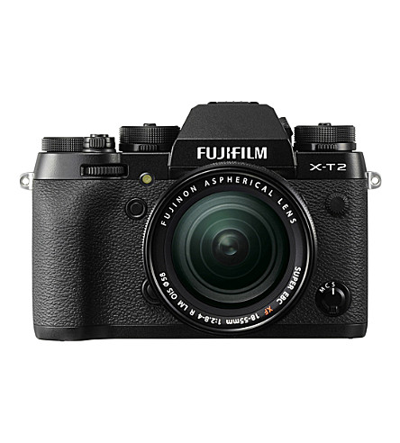 富士 XT2Mirrorless 数码相机18-55mm 镜头