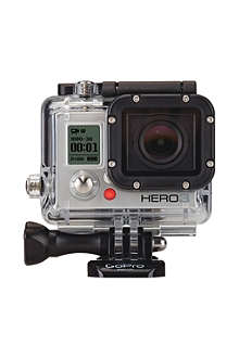 GOPRO HERO3: Silver Edition waterproof action camera