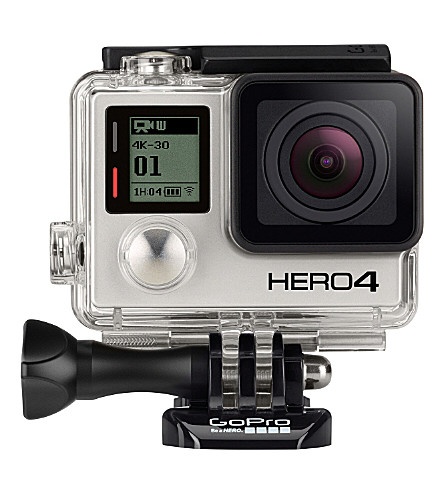 GOPRO HERO4 Black action camera & free adhesive mounts