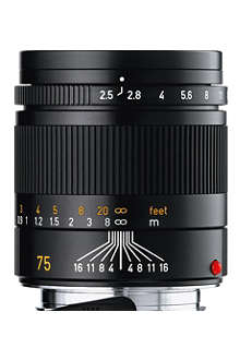 LEICA Summarit-M 75mm camera lens