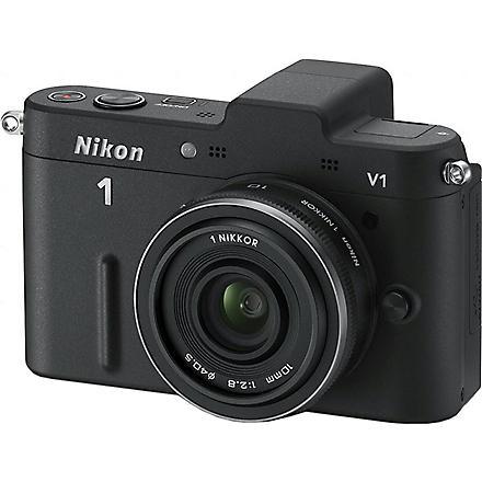 NIKON 1 V1 series camera with 10mm wide-angle lens