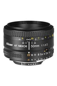 NIKON AF 50mm f/1.8 NIKKOR lens